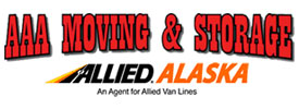 AAA Moving & Storage dba Allied Alaska Logo
